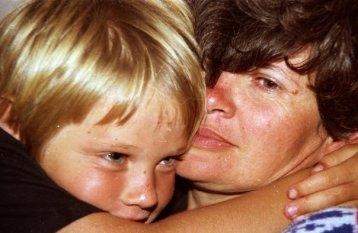 Aidan and Mom